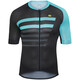 Alé Cycling PRR 2.0 Piuma SS Jersey Men black-turquoise